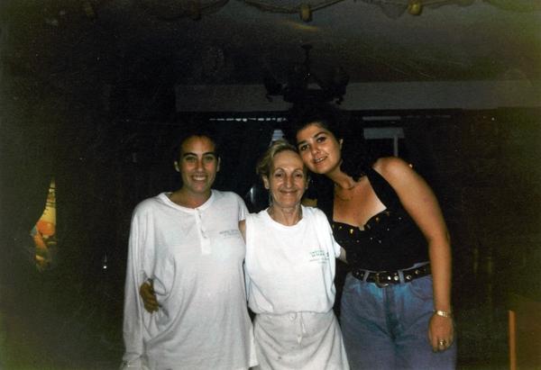 Matilde Fominaya. Restaurante Casa Manolo en Daimús. Chef Manuel Alonso. Historia
