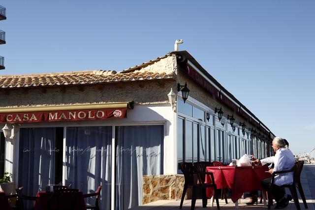 Restaurante Casa Manolo en Daimús. Vistas 2006