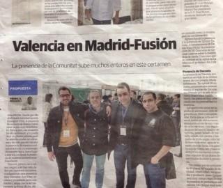 Manuel Alonso en Madrid Fusión 2014