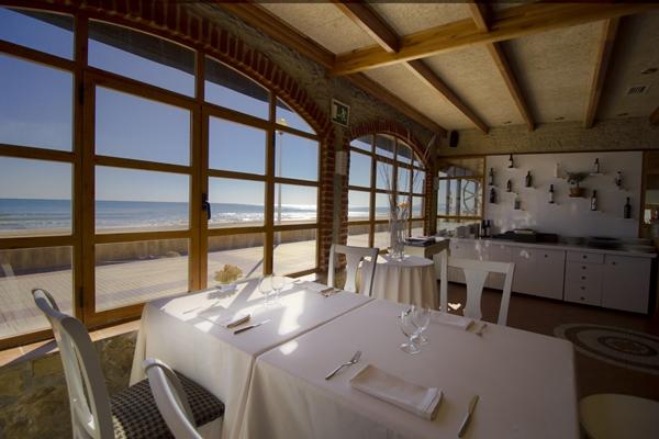 Restaurante Casa Manolo Daimús. Chef Manuel Alonso. Vistas al mar