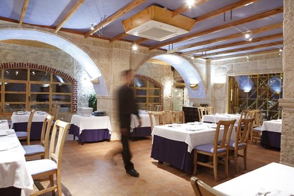 Restaurante Casa Manolo en Daimús. Comedor privado. 2007