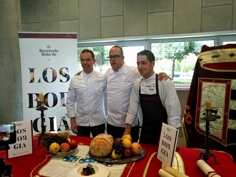 Manuel Alonso_La cocina de los Borgia, en nuestros platos con recetas de 10 chefs valencianos