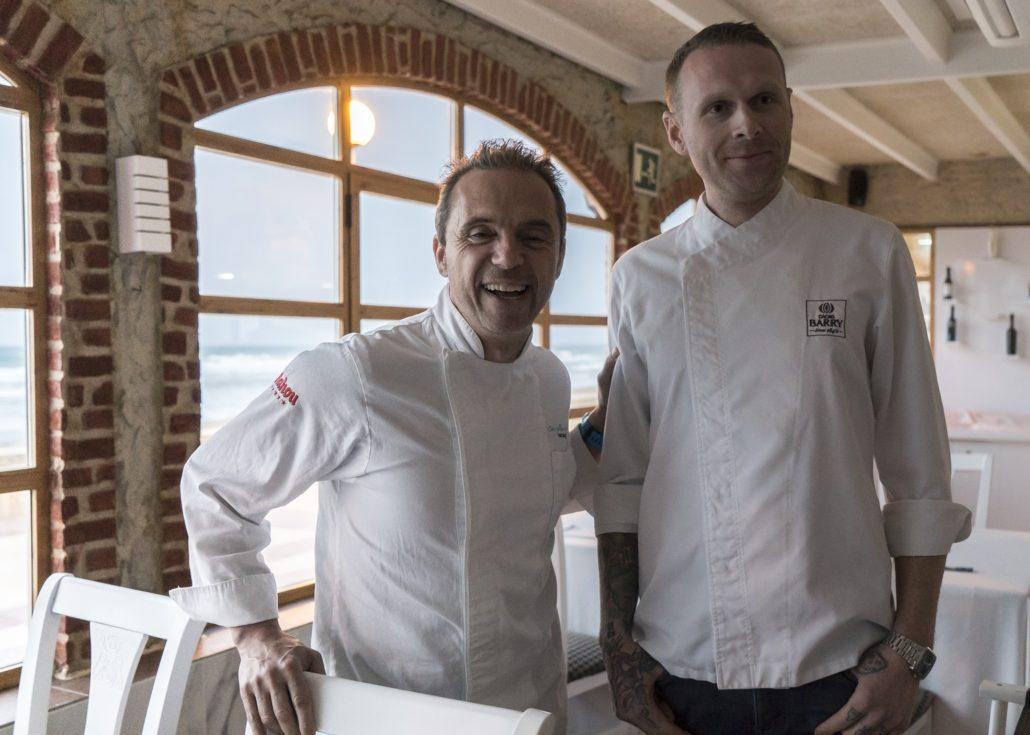 Manuel Alonso y Ryan Stover de NY en el Valencia Culinary Meeting