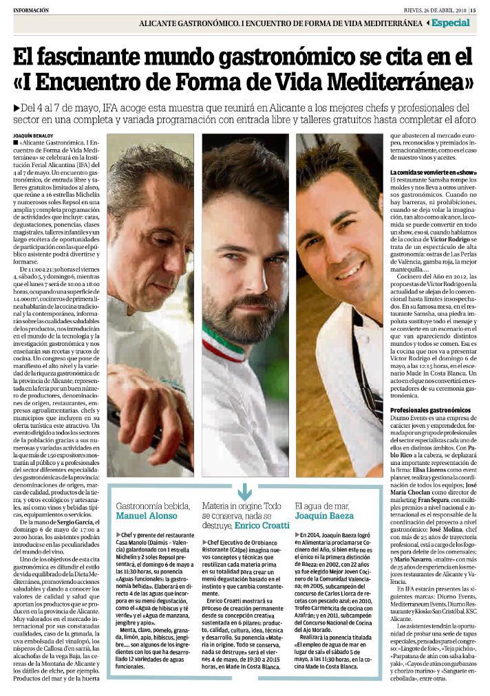 reportaje alicante gastronomica chef manuel alonso
