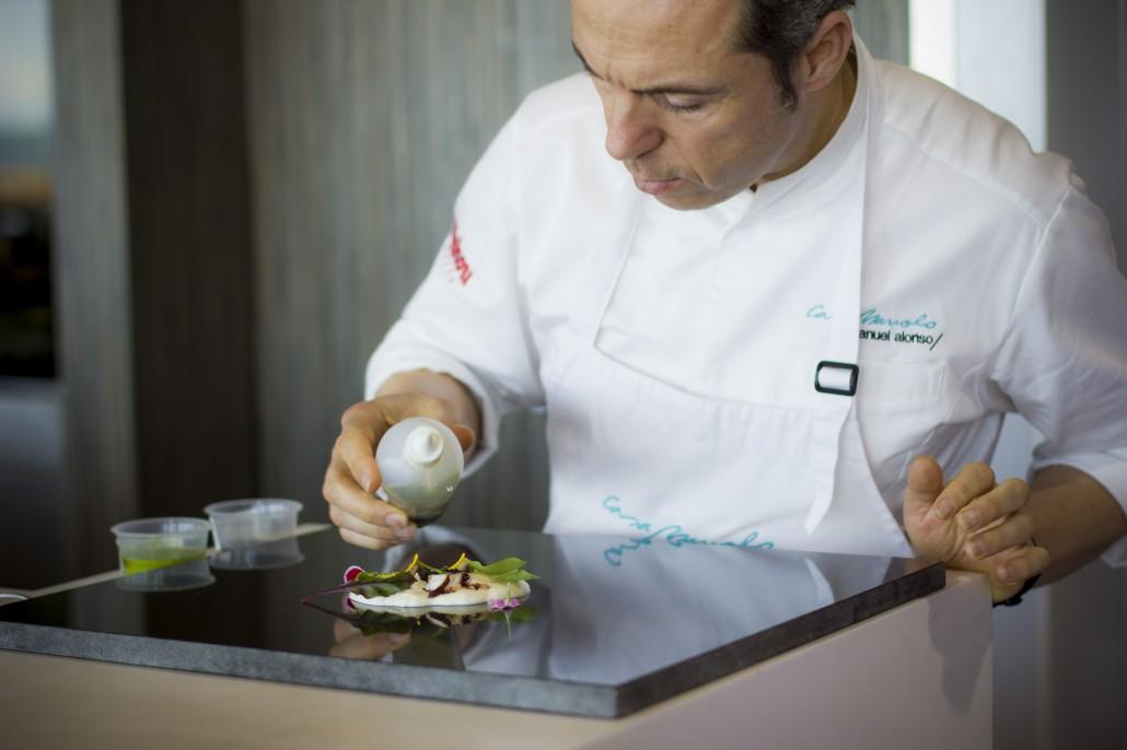 Manuel Alonso, casa manolo catering cocinará para evento de Porcelonosa en Albuixech