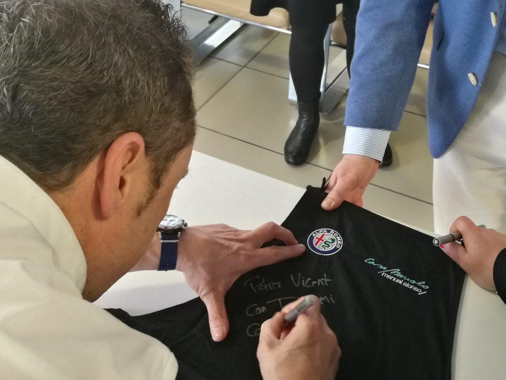 Manuel Alonso, chef de Restaurante Casa Manolo embajador de la marca de coches Alfa Romeo