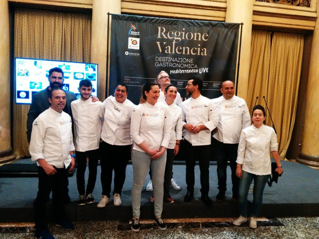 """Evento """"Una experiencia gastronómica cinco estrellas"""" Manuel Alonso, Quique Dacosta, Mª José Lienzo, Begoña Rodrigo, Alejandro Platero, Raul Resino010"""