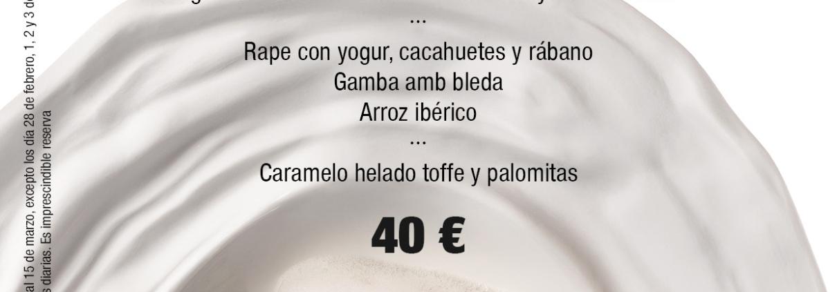 OFERTA MENÚ A 40€ EN RESTAURANTE CASA MANOLO