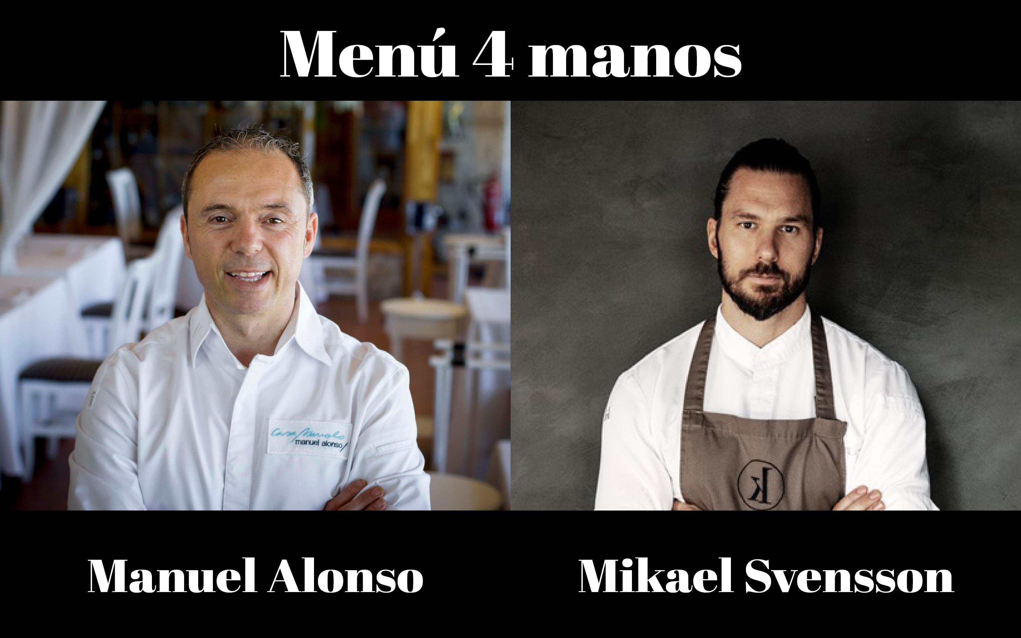 menú 4 manos facebook evento
